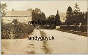 Real Photo Postcard Nether Silton Lead Lane Yorkshire Thirsk Rp Antique House