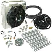 Bd-power Xtrude Double Stacked Auxiliary Trans Cooler Kit For 01-16 Allison 1000