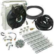 Bd-power Xtrude Double Stacked Auxiliary Trans Cooler Kit For 94-16 47/48/68re