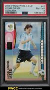 2006 Panini World Cup Germany Lionel Messi 47 Psa 8 Nm-mt