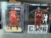 2 Lebron Rookie Cards Bowman 03-04 123 Rc Topps Pristine 03-04 Rc 101