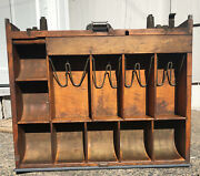 Antique National Cash Register Wood Drawer Ncr 1000 Class Arts And Crafts Beauty