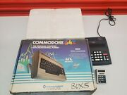 Commodore 64 Computer Box With Floppy Disk Drive 1541 Untested. Calculator