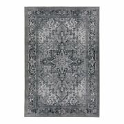 Addison Rugs Kensington 3and0393 X 5and0393 Rectangle Persian Fabric Area Rug In Gray