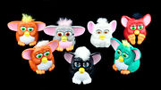 ✴️furby Toys Lot Of 7 Mcdonalds Happy Meal 1998 Tiger Electronics Vintage