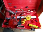 Hilti Dd-120 Core Drill W/ Stand Case And W/lot New Bits Huge Kit Nice 1011