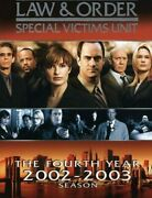 Law And Order Special Victims Unit - The Complete Fourth Season.
