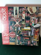 New Springbok 2000 Piece 1986 Coke Is It Jigsaw Puzzle Factory Sealed