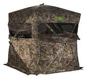 X Bone Collector R600bc-rte 3 Person Hunting Ground Blind Realtree Edge