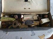 Vintage Colliery First Aid Box And Contents