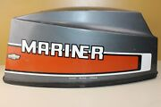 1982 Mariner 25m Top Hood Cover Cowling 25hp Outboard Parts
