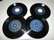 Lot Of 19 Greek 45's At Rare First Press Gold Labels , Columbia , Hmv , Odeon