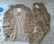 Usmc Desert Frog Shirt And Pants Authentic Large Long New