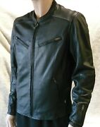 Zap Leather Sovento Men's Perforated Cowhide Motorcycle Jacket Wholesale Avail