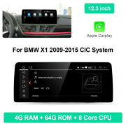 For Bmw X1 E84 2009-2015 Cic System 12.3 Android Car Gps Navigation Head Unit