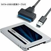 Crucial Crucial Ssd 500gb Mx500 Sata3 Built-in 2.5 Inches 7mm Ct500mx500ssd1 Con