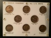 1960s Coin World Medals Honoring The U. S. Mints