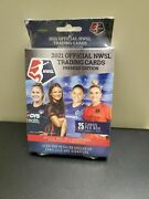 2021official Nwsl Trading Cards Premier Edition 25 Card Hanger Box New Sealed