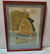 1927 July Ladies Home Journal Ad Wrigley's Doublemint Gum Mother Hubbard Framed