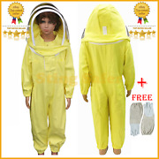 Cute Baby Full Body Coverall Beekeeping Bee Suit Bee Suit For Kids With Gloves