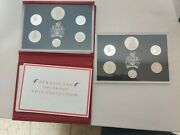New Zealand 1990 Proof Set Total Of Two