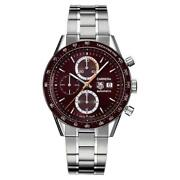 Check This Out Tag Heuer Carrera Cv2013.ba0794 Chrono Auto Steel Brown Watch
