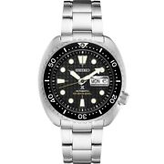 New Seiko Automatic Prospex King Turtle Divers 200m Menand039s Watch Srpe03