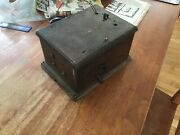 Western Electric 48a Telephone Magneto Generator 5 Bar Vintage Crank Tested