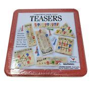 Teasers Brain Game Puzzles Sealed 7 Different Wood New Ages 6 And Up