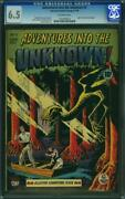Adventures Into The Unknown 5 Cgc 6.5 Fn+ Fully Insured Shipping Within Na