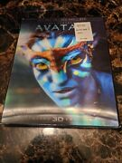 Sealed Avatar Blu-ray/dvd, 2012, 2-disc Set Limited Edition 2d/3d W/ Slipcover