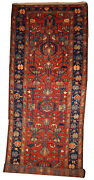 Handmade Antique Oriental Runner 3.3and039 X 10.2and039 100cm X 310cm 1920s - 1b429