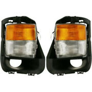 Fits Cadillac Cts Fog Light 2004 05 06 2007 Pair Lh And Rh Side