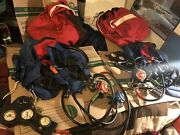 Vintage Scuba Z90 Backpack Tank Dive System-lot Of 2.. Untested.. As Is..
