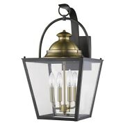 Acclaim Lighting - Savannah 4-light Wall Light In Colonial Style - 12 Inches