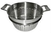 All-clad Stainless Steel Colander/pasta Insert/strainer For 7qt And 8qt Stock Pots