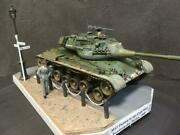 Diorama M47 Patton Under The Cold War Between East And West German Federa _40432