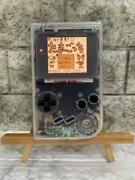 The First Game Boy Custom Transparent Shell Ips Lcd F/s From Japan