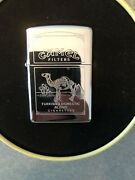 1994 Vintage Camel Zippo Lighter Rare Double - Sided Never Used With Camel Tin
