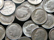 10 Roosevelt Dimes, 90 Junk Silver Coins, Real Money, Real Investment, Silver