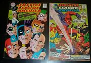 Lot/2 Justice League Of America 61vf-, 64vf-, Justice Society Bagandbd Silver Age