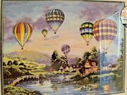Dimensions Gold Collection Counted Cross Stitch 35213 Hot Air Balloon Glow