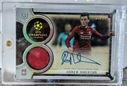 2018-19 Topps Museum Uefa Mar-ar Andrew Robertson Jersey Auto /99 Liverpool