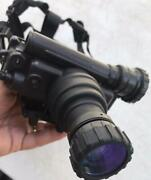 Pvs-7 Omni Autogated Nvg Night Vision Goggles Military Tube And Headset Mount