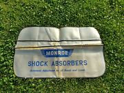 Vintage Monroe Shock Absorbers Fender Cover Mechanic Accessories Gold Show Style