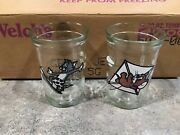 12-1990 Tom And Jerry Welch's Jelly Jar/juice Glass New In Original Box
