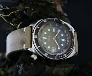 Obscure Vintage Alpha Automatic Depth Gauge Monnin Cased Divers Tool Watch