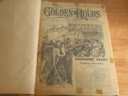 Munro's Golden Hours Edward Ellis Old Cap Collier P T Barnum 35 Story Papers