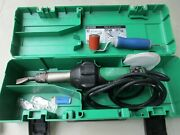 Leister Triac St 141.228 Plastic Welder With Nozzle Works Great Looks Great