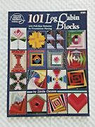 101 Log Cabin Blocks Full Size Quilt Patterns For Foundation Piecing 4181